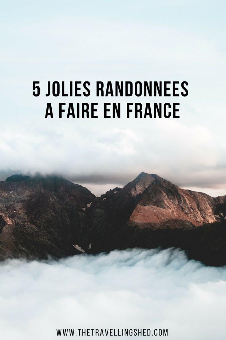 Découvrez 5 jolies randonnées à faire en France ! #walk #randonnée #France