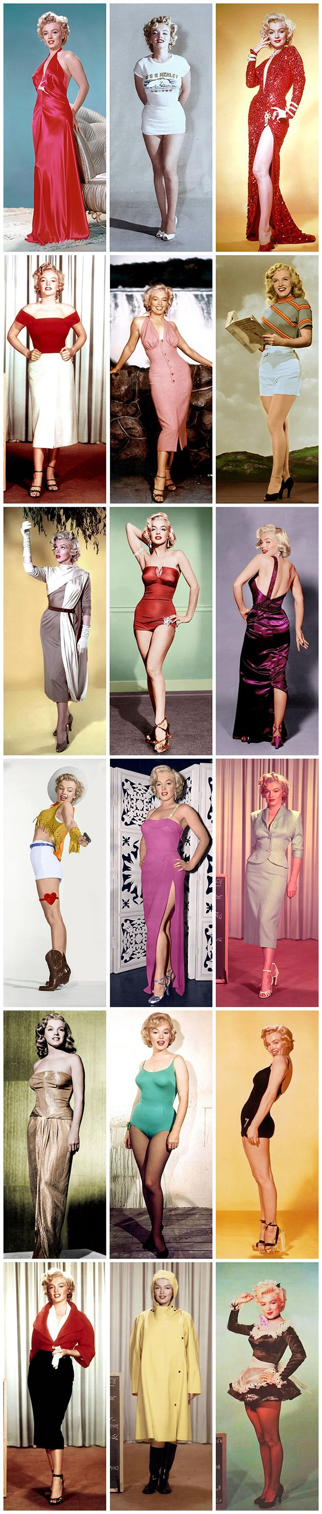 Marilyn Monroe – wardrobe test photographs …. #marilynmonroe #pinup #monroe #normajeane #iconic #sexsymbol #hollywoodlegend #hollywoodactress