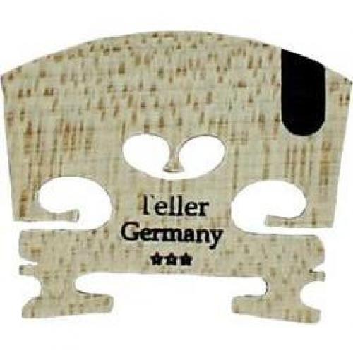 Teller Violin Bridge - Ebony Inlay 4/4