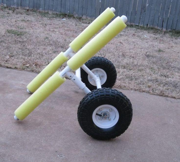 25 best ideas about kayak cart on pinterest canoe cart for Homemade fishing cart