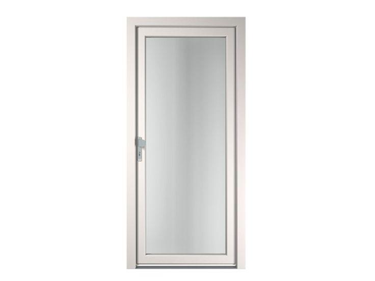 Porte d entr e vitr e en pvc pour l 39 exterieur creativ by finstral portes porte entree vitree for Porte exterieur en pvc