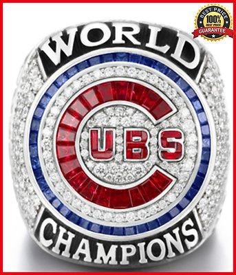 2016 Chicago Cubs World Series Championship Ring for BRYANT/RIZZO/ZOBRIST, 8-14  | eBay