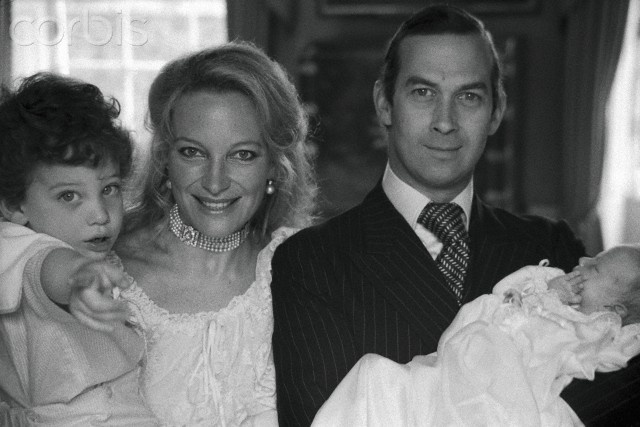 TRH Prince and Princess Michael of Kent with their 2 children Lord Frederick Windsor and Lady Gabriella Windsor.