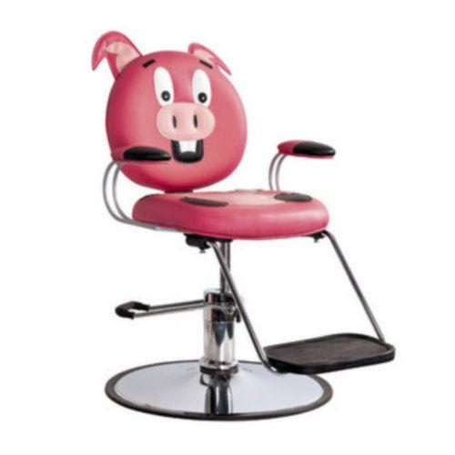high quality salon furniture for sale cartoon pig salon chair kids chair with footrest http - Salon Chair