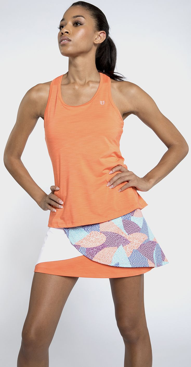 Eleven by Venus Williams introduces the Aztec collection of women's tennis and training apparel for spring. Shop the collection of athletic tops,skirts, jackets, and tennis outfits in turkish sea blue, orange, turquoise, and aztec print fabrics perfect for the season at MidwestSports.com.