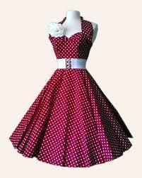 anni 50 abito pois