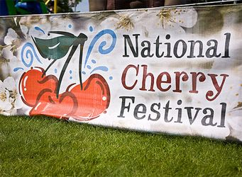 National Cherry Festival. June 29th through July 6th. Traverse City, Michigan.