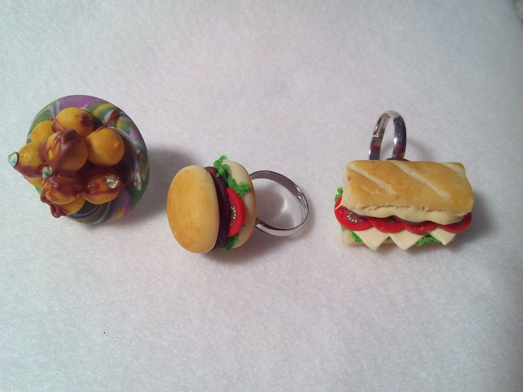 polymer clay mini sweets and deserts