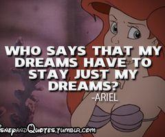 Keep dreaming mermaids!