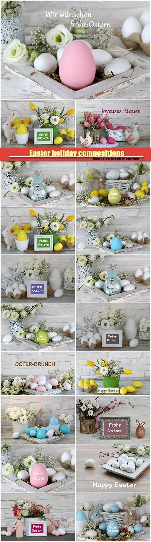 Easter holiday compositions