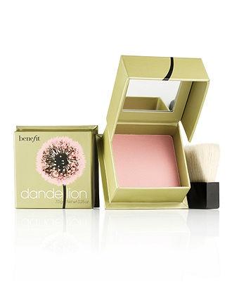 Benefit Dandelion Box O' Powder Blush The perfect natural flush for the fair-skinned maiden.