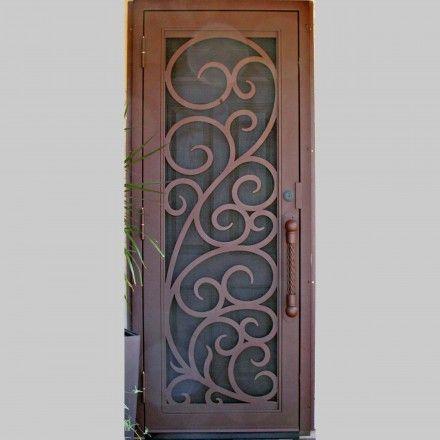 Florentine Security Screen Door