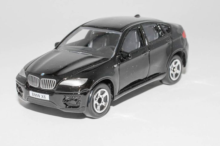 1:64 scale BMW X6 (Black) – by Realtoy