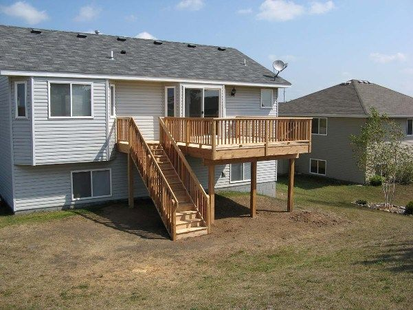 25 best ideas about two story deck on pinterest two for House plans with second story porch