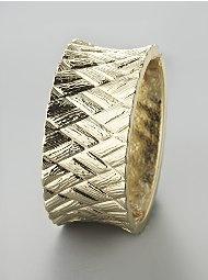 Basketweave Cuff Bracelet