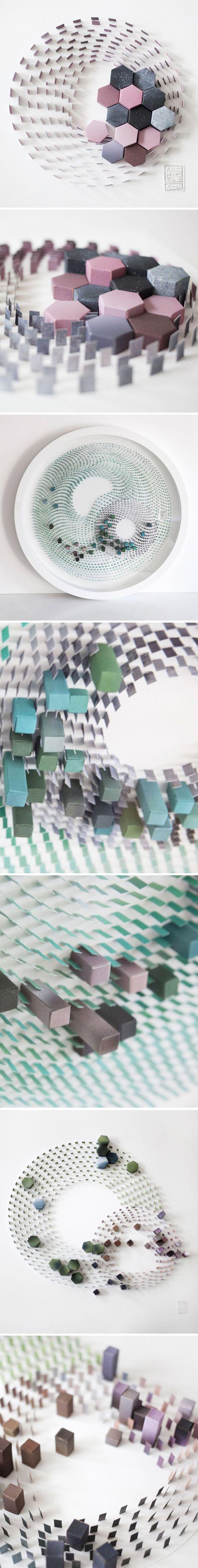 agnes cappadoro - paper sculpture <3