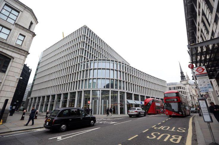 1 New Ludgate, London  intrasystems.co.uk  #flooring #matting #matt #entrance #entrancedesign #design #london architecture #contemporary