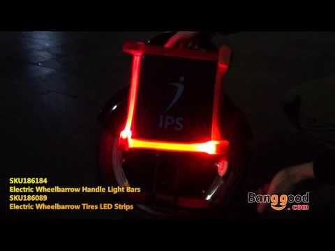 Electric Wheelbarrow Light Bars and LED Strips Test and Experience - Ban...