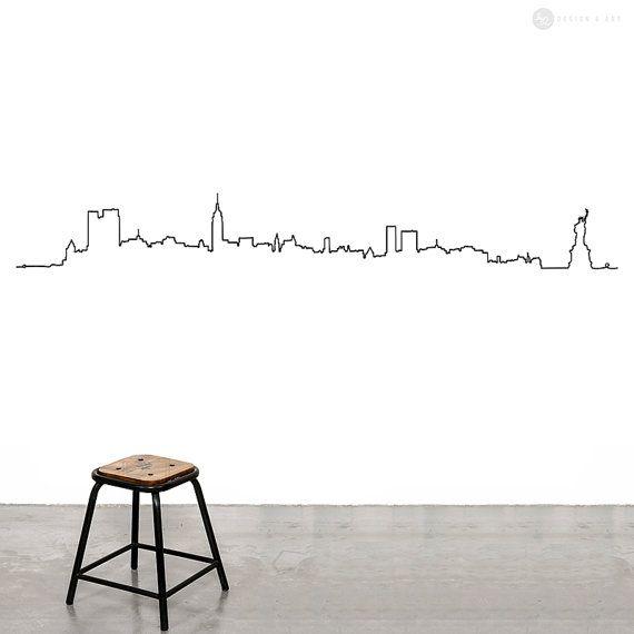 Best 25 City wall stickers ideas on Pinterest Batman stickers