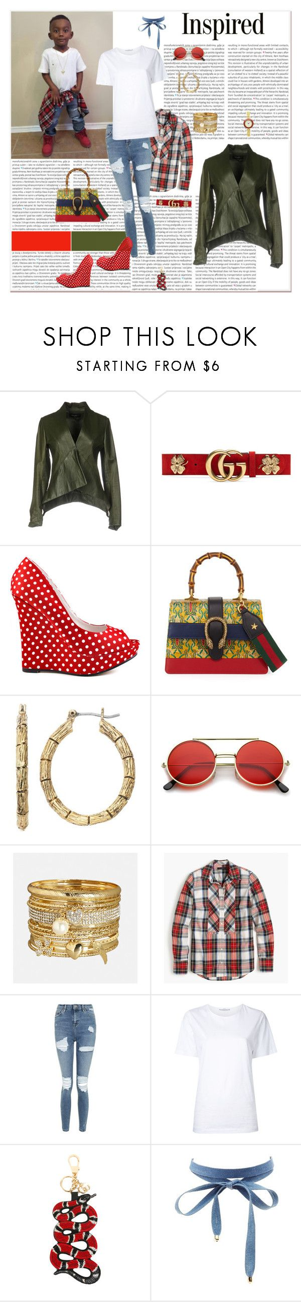 """""""the play'in dress-up, it ain't a game no mo! #SWAGswap"""" by g-vah-styles ❤ liked on Polyvore featuring Adele Fado, Gucci, Michael Antonio, Dana Buchman, ZeroUV, Avenue, J.Crew, Topshop, Astraet and Charlotte Russe"""