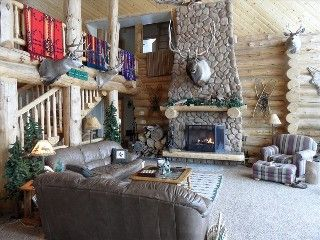 Luxurious Mountain Lodge.  Wonderful Location for All Seasons.   Vacation Rental in Bear Lake from @homeaway! #vacation #rental #travel #homeaway