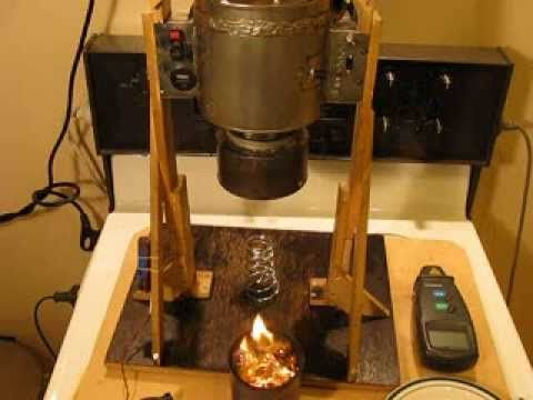 Tin Can Stirling Engine on Wood Gasifier, Surprising Result. - YouTube