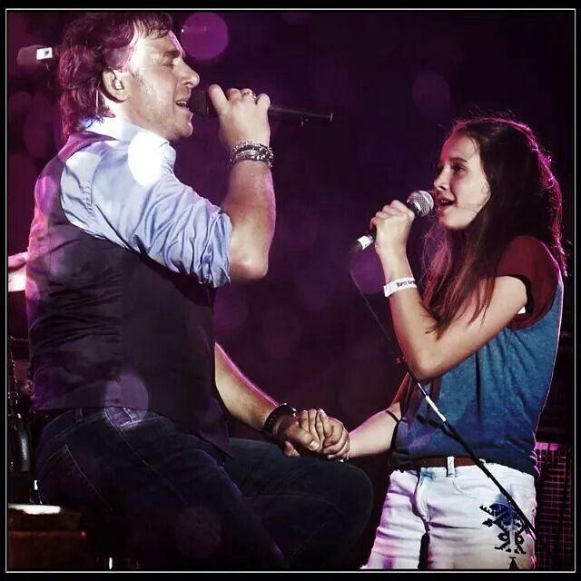 Hoe gaaf is zingen met je eigen dochter Jada Borsato