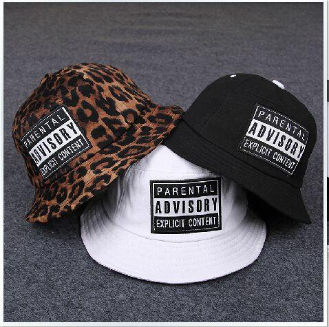 Fashion Bucket Hat Parental Advisory Bucket Hats for Men Women Hip Hop Bob Outdoor Fishing Hat Casual Chapeu Masculino Sun Cap