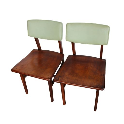 Mid Century Johnson Chair Co. Chairs : Aurora Mills Architectural Salv. Amazing Pictures