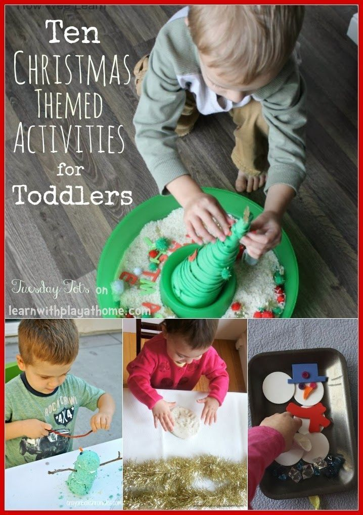10 Christmas Activities for Toddlers