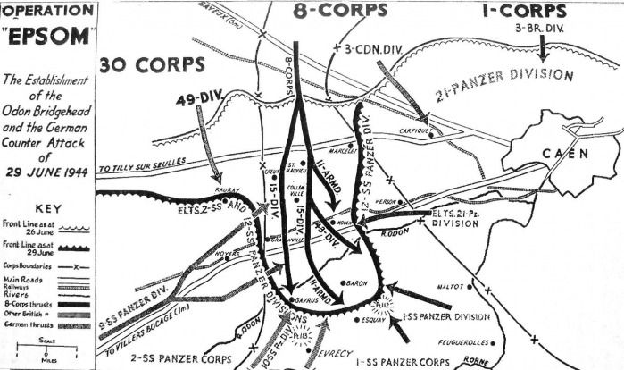 The Plan for Operation Epsom and the German Response