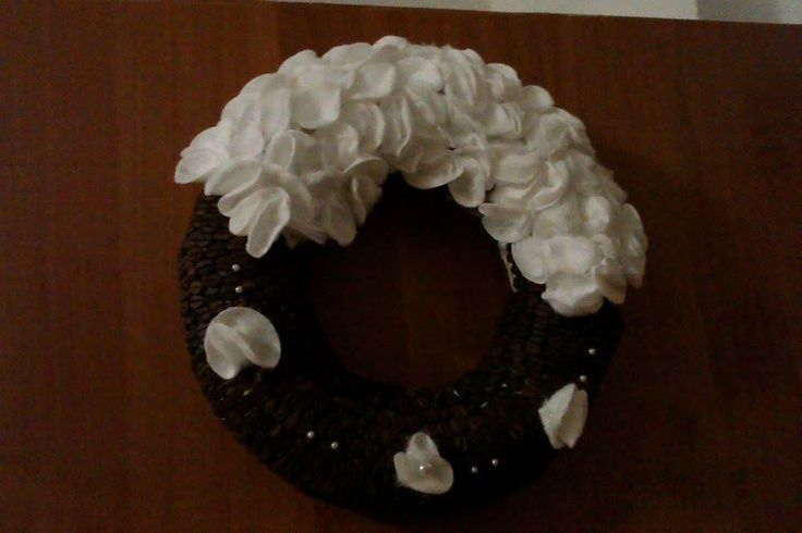 Wreath of January - COFFEE BEANS!