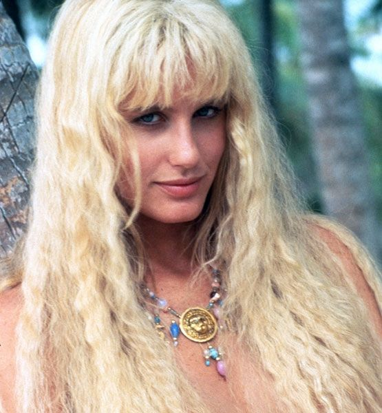 Splash (1984)    Our love for length knows no bounds. And there's a very good chance this affair began the first time we saw Daryl Hannah's Madison in all her mermaid glory. Actually, this crimped — like you slept in your braids — style is very reminiscent of the hair on Diane von Furstenberg's Spring 2010 runway.