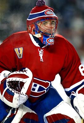 Jose Theodore,Canadien Montreal Heritage Classic Game (2003)
