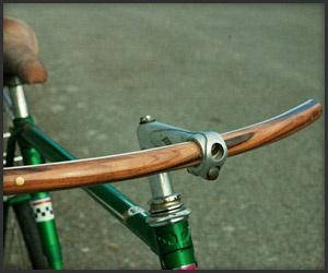 Coolest Handle bars ever!: Bicycles, Handcrafted Wooden, Bike Riding, Wood Handlebar, Bikes, Wooden Handlebar, The Classiqu, Design Studios, Bike Accessories