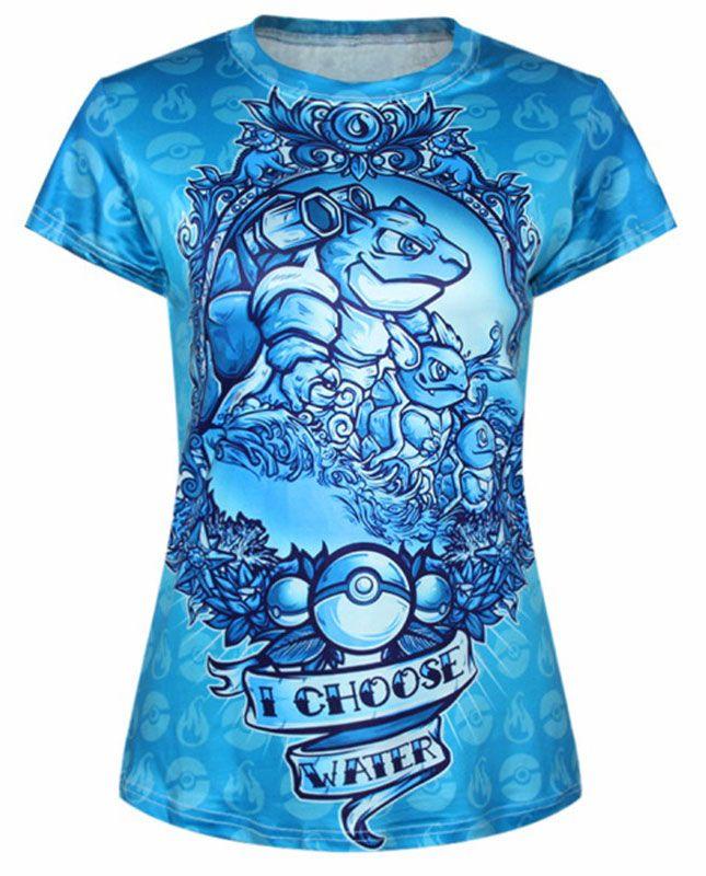 Nouveau produit : T-shirt geek bleu Je choisis l'eau I choose watter Vous aimez ? / New product do you like ? Prix: 22.90 #new #nouveau #japanattitude #tops #geek #tshirt #femme #top #eau #team #tortank #carabaffe #carapuce #pokemon #go #pokeball #mystic #sagesse #blanche #artikodin #sacha #nerd #t-shirt #woman #water #blastoise #wartortle #squirtle #pokemongo #wisdom #white #geeknerdpokemongo