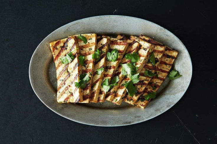 Grilled Peanut Tofu on @Food52: https://food52.com/recipes/11358-grilled-peanut-tofu