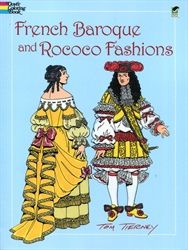 French Baroque and Rococo Fashions - Coloring Book - Exodus Books