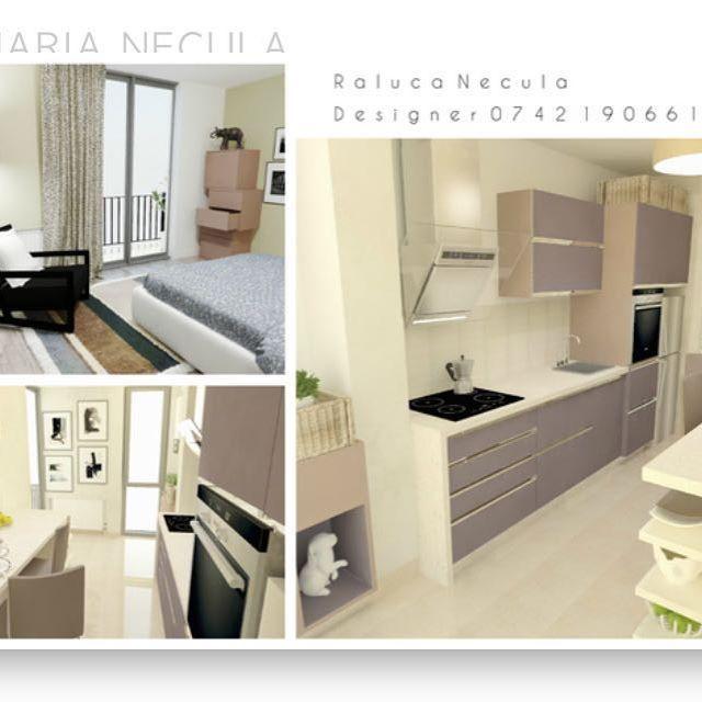 Viata in apartament _____________________________________________  #brasov #designinterior #classy #interior #design #play  #3D #positive #kitchen #bucatarie #colors #white #modern #furnituredesign NECULA RALUCA MARIA DESIGNER INTERIOR BRASOV RALU.NEC@GMAIL.COM ralucanecula.portfoliobox.net