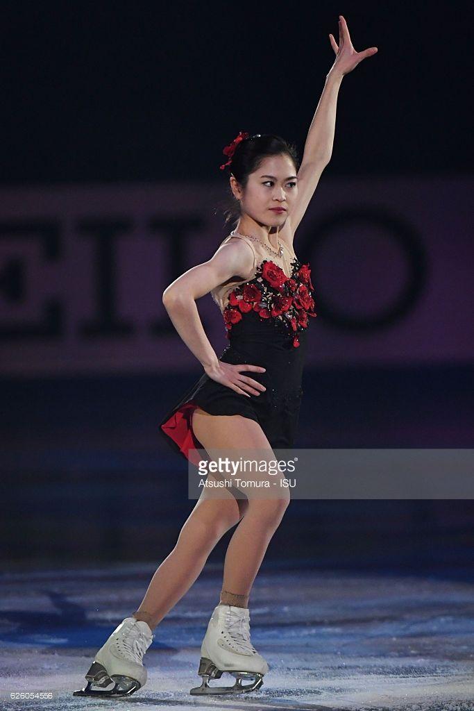 News Photo : Satoko Miyahara of Japan performs in the gala...