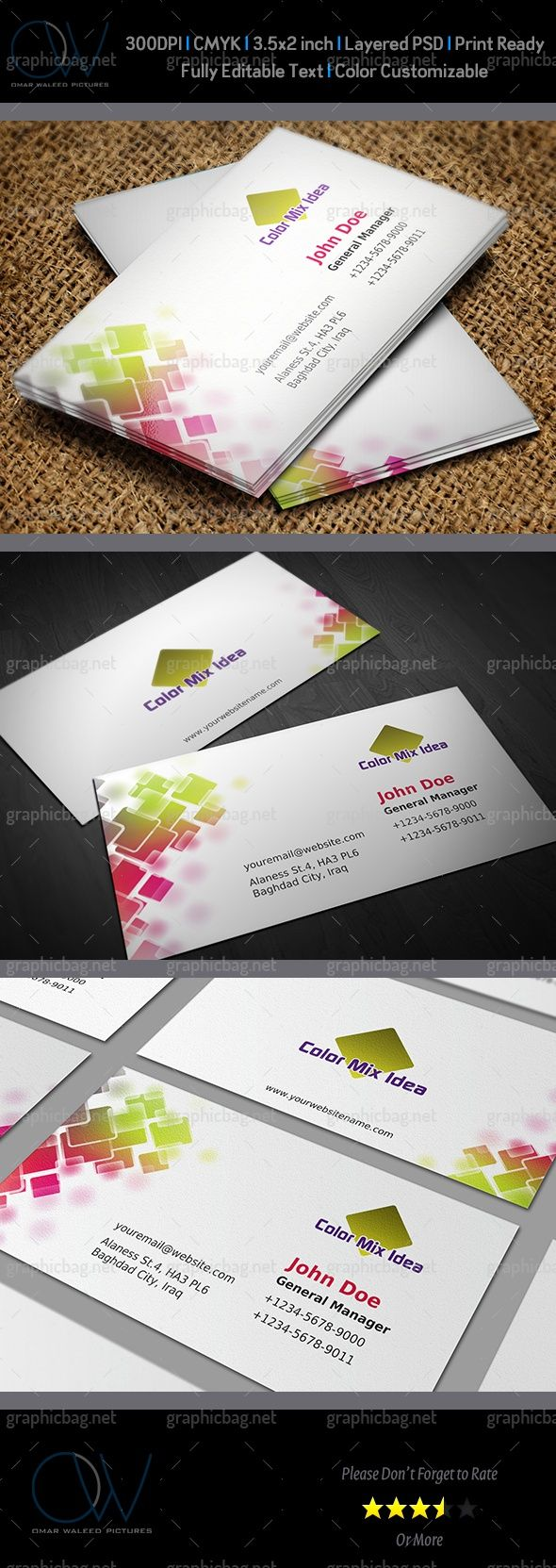 Color Business Card Vol.1