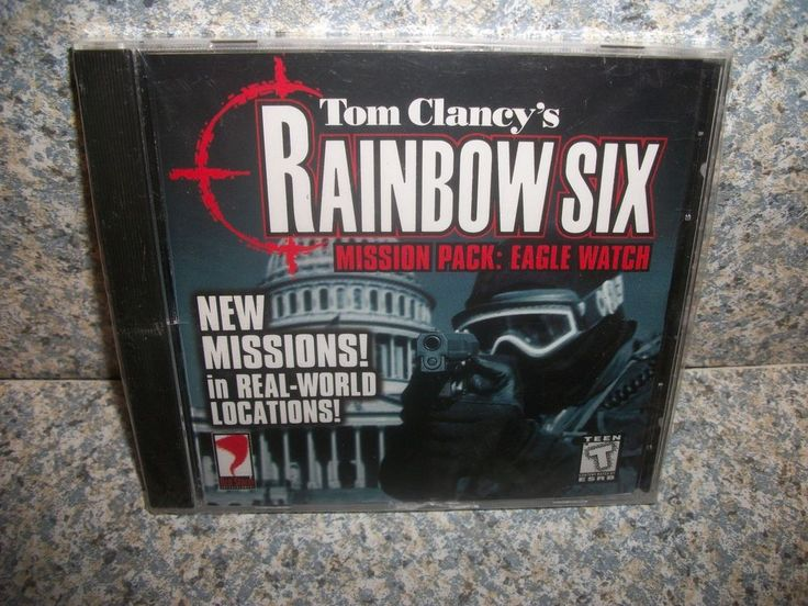 TOM CLANCY'S RAINBOW SIX MISSION PACK: EAGLE WATCH PC BRAND NEW + SEALED