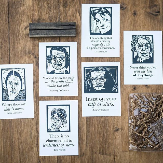 Check Out This Women Of Literature Postcard Set Make Sure You Use