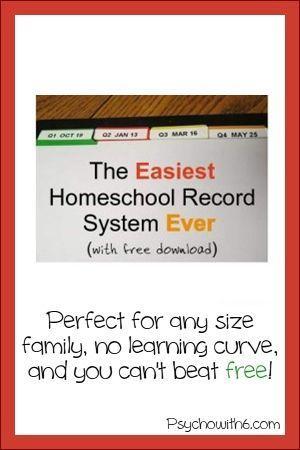 52 besten Homeschool Recordkeeping Bilder auf Pinterest   Schulen ...