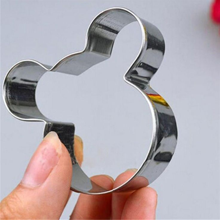 Mickey Mouse Shape Metal Cookie Cutter
