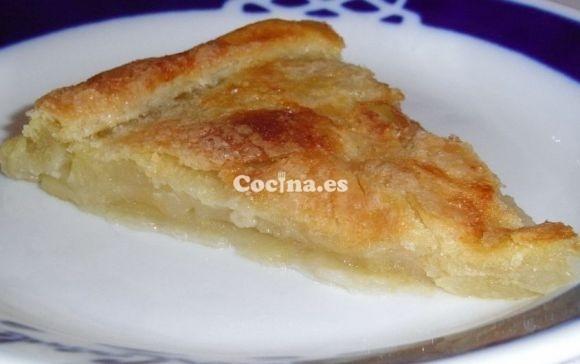 Receta de Tarta de manzana sin azúcar