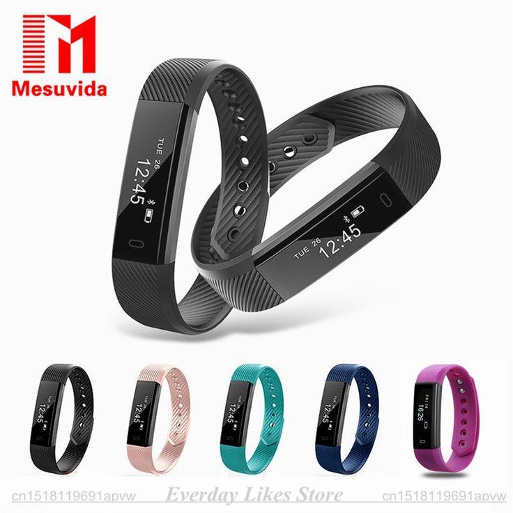 מקורי ID115 גשש כושר צמיד שעונים שעון מעורר חכם מונה צג שינה חכם צמיד Bluetooth ספורט מסלול