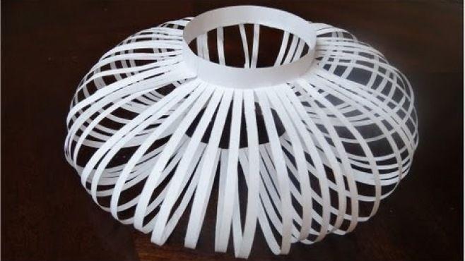 Kağıt Sanatı - Basit Ve Yaratıcı Ev Süsleri Tasarımı - Kağıt Sanatı - teknikleri, örnekleri ve ipuçlarını videolu anlatımı. Kağıttan hediyelik ve özel günler için basit ve yaratıcı ev süsleri yapımı (How To Make A Very Easy Paper Design Video)