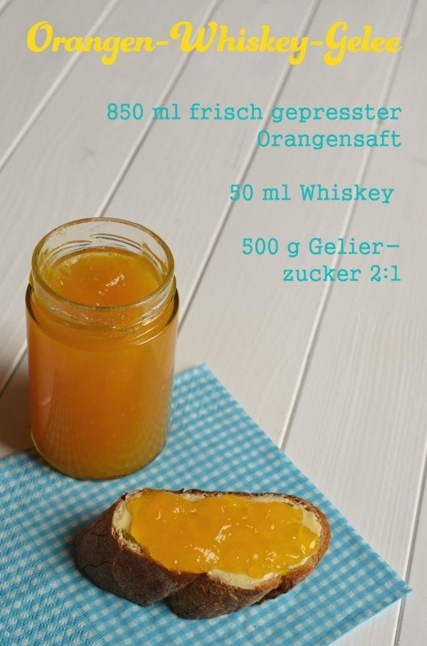 Rezept für Orangen-Whiskey-Gelee (www.rheintopf.com)
