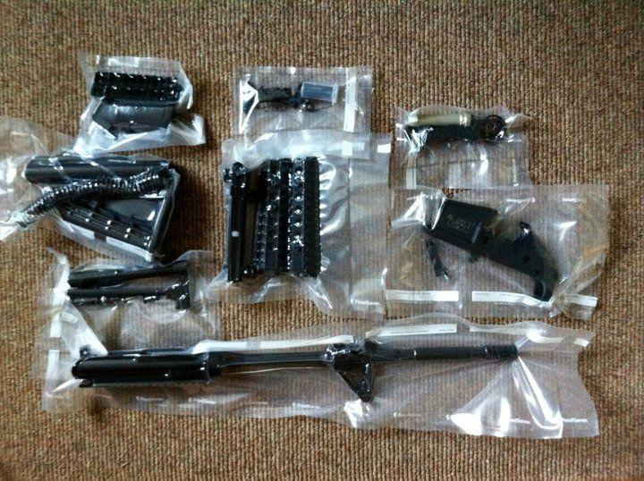 The Zombie Apocalypse >> Smith & Wesson M, ready for long-term storage   Guns & Gardens - Zombie Apocalypse & Doomsday ...